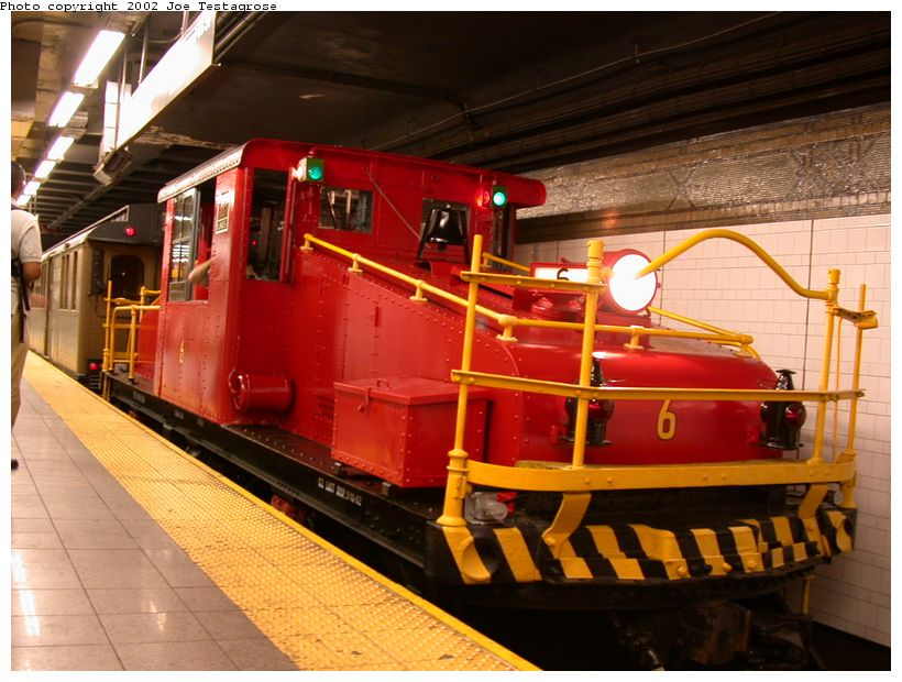 (129k, 820x620)<br><b>Country:</b> United States<br><b>City:</b> New York<br><b>System:</b> New York City Transit<br><b>Line:</b> BMT 4th Avenue<br><b>Location:</b> 36th Street <br><b>Route:</b> Fan Trip<br><b>Car:</b> SBK Steeplecab 6 <br><b>Photo by:</b> Joe Testagrose<br><b>Date:</b> 9/22/2002<br><b>Viewed (this week/total):</b> 7 / 3709