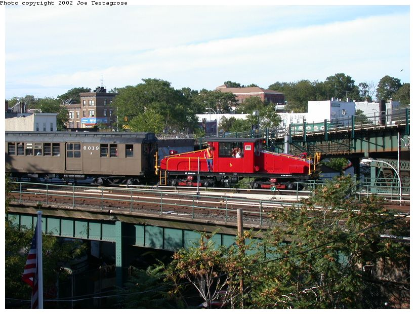 (152k, 820x620)<br><b>Country:</b> United States<br><b>City:</b> New York<br><b>System:</b> New York City Transit<br><b>Location:</b> East New York Yard/Shops<br><b>Route:</b> Fan Trip<br><b>Car:</b> SBK Steeplecab 6 <br><b>Photo by:</b> Joe Testagrose<br><b>Date:</b> 9/22/2002<br><b>Viewed (this week/total):</b> 0 / 4241