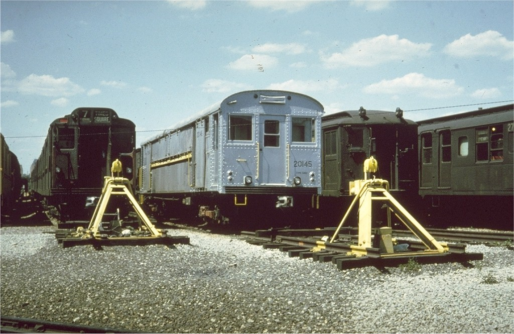 (208k, 1024x665)<br><b>Country:</b> United States<br><b>City:</b> New York<br><b>System:</b> New York City Transit<br><b>Location:</b> Coney Island Yard<br><b>Car:</b> Rubbish Collection Car (ACF, 1918)  20145 <br><b>Collection of:</b> Joe Testagrose<br><b>Viewed (this week/total):</b> 1 / 3691
