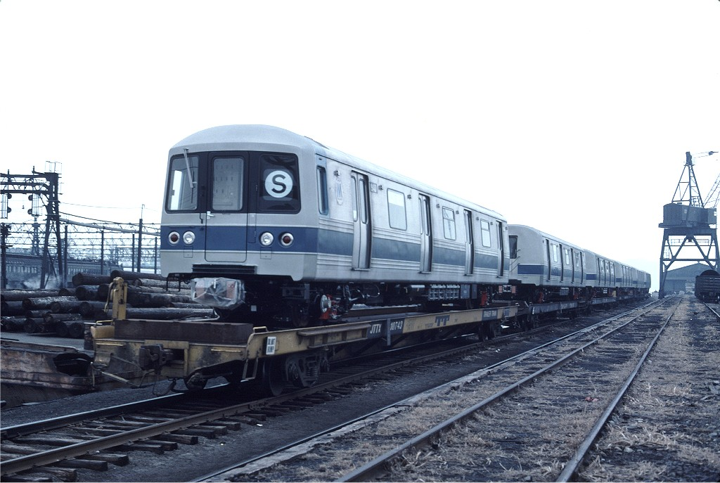 (171k, 1024x687)<br><b>Country:</b> United States<br><b>City:</b> Hoboken, NJ<br><b>System:</b> New York City Transit<br><b>Location:</b> Hoboken Yard <br><b>Car:</b> R-46 (Pullman-Standard, 1974-75) 940 <br><b>Photo by:</b> Ed McKernan<br><b>Collection of:</b> Joe Testagrose<br><b>Date:</b> 2/24/1977<br><b>Viewed (this week/total):</b> 0 / 200
