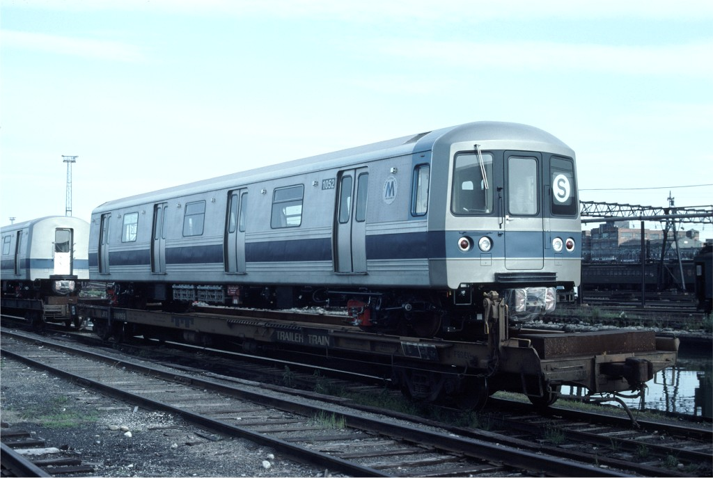 (151k, 1024x687)<br><b>Country:</b> United States<br><b>City:</b> Hoboken, NJ<br><b>System:</b> New York City Transit<br><b>Location:</b> Hoboken Yard <br><b>Car:</b> R-46 (Pullman-Standard, 1974-75) 1052 <br><b>Photo by:</b> Ed McKernan<br><b>Collection of:</b> Joe Testagrose<br><b>Date:</b> 6/13/1977<br><b>Viewed (this week/total):</b> 3 / 385
