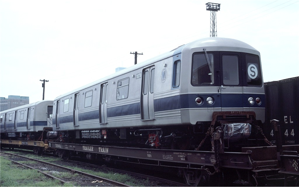 (135k, 1024x642)<br><b>Country:</b> United States<br><b>City:</b> Hoboken, NJ<br><b>System:</b> New York City Transit<br><b>Location:</b> Hoboken Yard <br><b>Car:</b> R-46 (Pullman-Standard, 1974-75) 1078 <br><b>Photo by:</b> Ed McKernan<br><b>Collection of:</b> Joe Testagrose<br><b>Date:</b> 7/4/1977<br><b>Viewed (this week/total):</b> 2 / 428