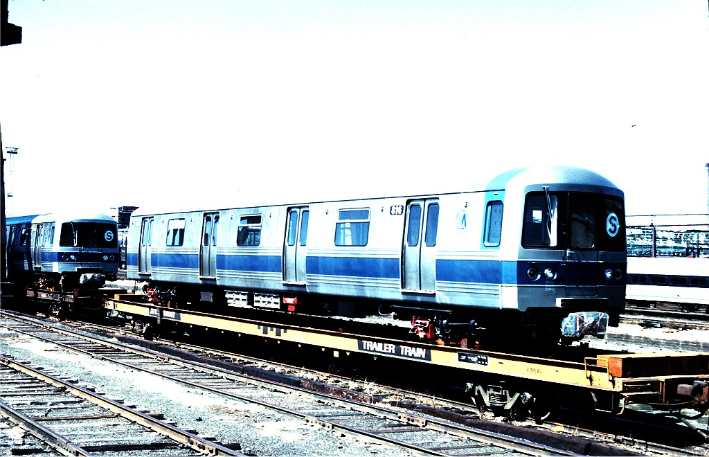 (209k, 1024x660)<br><b>Country:</b> United States<br><b>City:</b> Hoboken, NJ<br><b>System:</b> New York City Transit<br><b>Location:</b> Hoboken Yard <br><b>Car:</b> R-46 (Pullman-Standard, 1974-75) 816 <br><b>Photo by:</b> Ed McKernan<br><b>Collection of:</b> Joe Testagrose<br><b>Date:</b> 3/17/1977<br><b>Viewed (this week/total):</b> 11 / 307