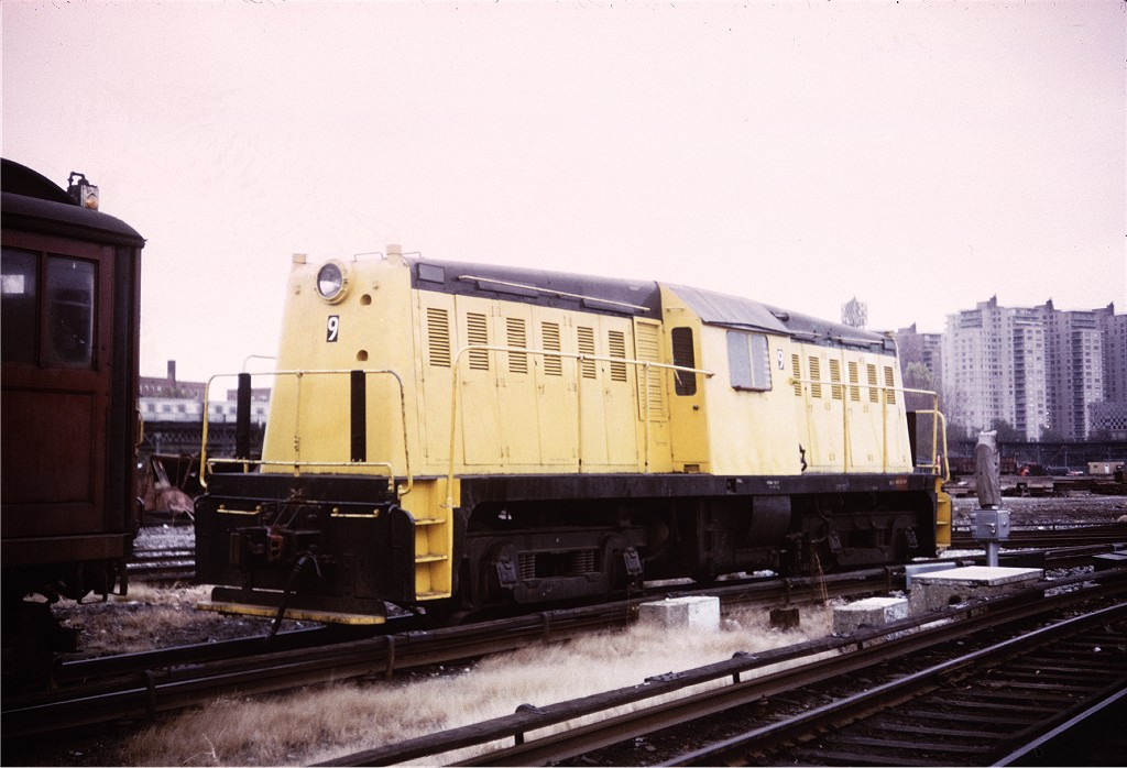 (166k, 1024x698)<br><b>Country:</b> United States<br><b>City:</b> New York<br><b>System:</b> New York City Transit<br><b>Location:</b> Coney Island Yard<br><b>Car:</b> Whitcomb Locomotive 9 <br><b>Collection of:</b> Joe Testagrose<br><b>Viewed (this week/total):</b> 0 / 309