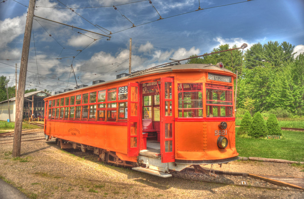 (425k, 1024x670)<br><b>Country:</b> United States<br><b>City:</b> Kennebunk, ME<br><b>System:</b> Seashore Trolley Museum <br><b>Car:</b> MBTA 5821 <br><b>Photo by:</b> David Pirmann<br><b>Date:</b> 6/26/2011<br><b>Viewed (this week/total):</b> 1 / 118