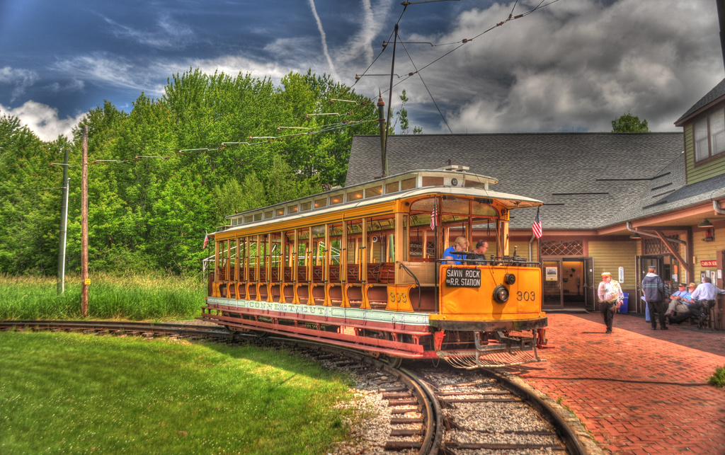 (453k, 1024x643)<br><b>Country:</b> United States<br><b>City:</b> Kennebunk, ME<br><b>System:</b> Seashore Trolley Museum <br><b>Car:</b>  303 <br><b>Photo by:</b> David Pirmann<br><b>Date:</b> 6/26/2011<br><b>Viewed (this week/total):</b> 1 / 327