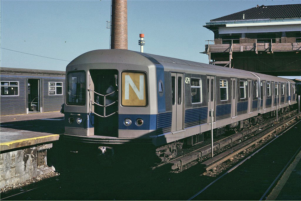 (316k, 1024x687)<br><b>Country:</b> United States<br><b>City:</b> New York<br><b>System:</b> New York City Transit<br><b>Location:</b> Coney Island/Stillwell Avenue<br><b>Car:</b> R-42 (St. Louis, 1969-1970)  4579 <br><b>Photo by:</b> Joe Testagrose<br><b>Date:</b> 6/28/1970<br><b>Viewed (this week/total):</b> 1 / 1161