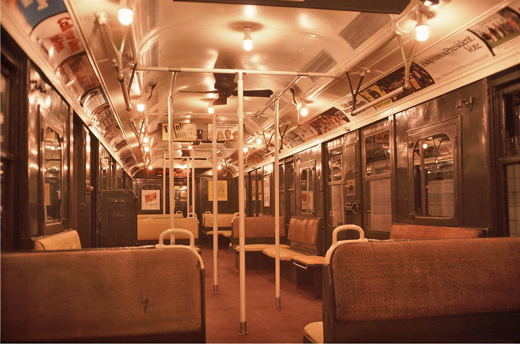 (305k, 1024x677)<br><b>Country:</b> United States<br><b>City:</b> New York<br><b>System:</b> New York City Transit<br><b>Location:</b> New York Transit Museum<br><b>Car:</b> BMT A/B-Type Standard 2204 <br><b>Photo by:</b> Doug Grotjahn<br><b>Collection of:</b> Joe Testagrose<br><b>Date:</b> 10/10/1976<br><b>Viewed (this week/total):</b> 3 / 854