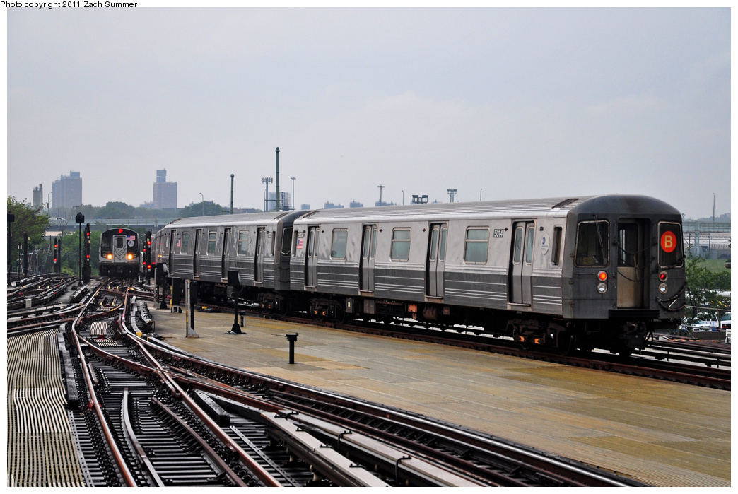 (335k, 1044x699)<br><b>Country:</b> United States<br><b>City:</b> New York<br><b>System:</b> New York City Transit<br><b>Location:</b> Coney Island/Stillwell Avenue<br><b>Route:</b> B Yard Move<br><b>Car:</b> R-68A (Kawasaki, 1988-1989)  5014 <br><b>Photo by:</b> Zach Summer<br><b>Date:</b> 7/29/2011<br><b>Viewed (this week/total):</b> 5 / 579