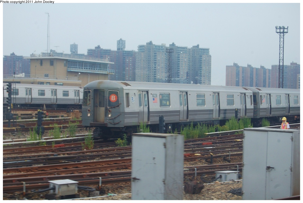 (248k, 1044x701)<br><b>Country:</b> United States<br><b>City:</b> New York<br><b>System:</b> New York City Transit<br><b>Location:</b> Coney Island Yard<br><b>Car:</b> R-68A (Kawasaki, 1988-1989)  5192 <br><b>Photo by:</b> John Dooley<br><b>Date:</b> 6/28/2011<br><b>Viewed (this week/total):</b> 2 / 446