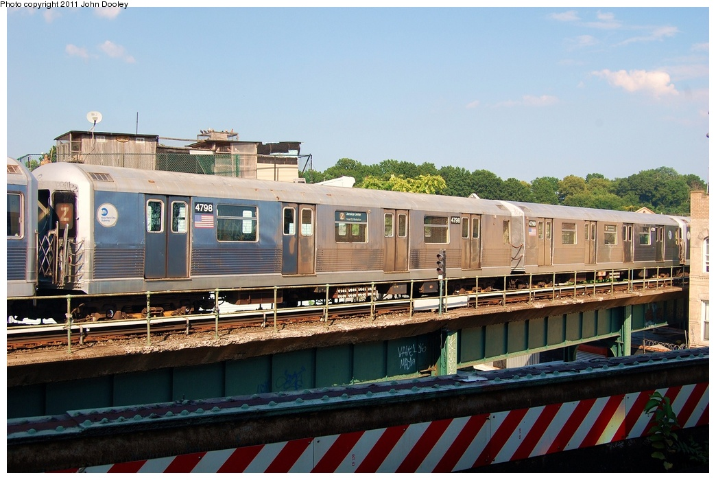 (317k, 1044x699)<br><b>Country:</b> United States<br><b>City:</b> New York<br><b>System:</b> New York City Transit<br><b>Location:</b> East New York Yard/Shops<br><b>Car:</b> R-42 (St. Louis, 1969-1970)  4798 <br><b>Photo by:</b> John Dooley<br><b>Date:</b> 8/17/2011<br><b>Viewed (this week/total):</b> 0 / 313