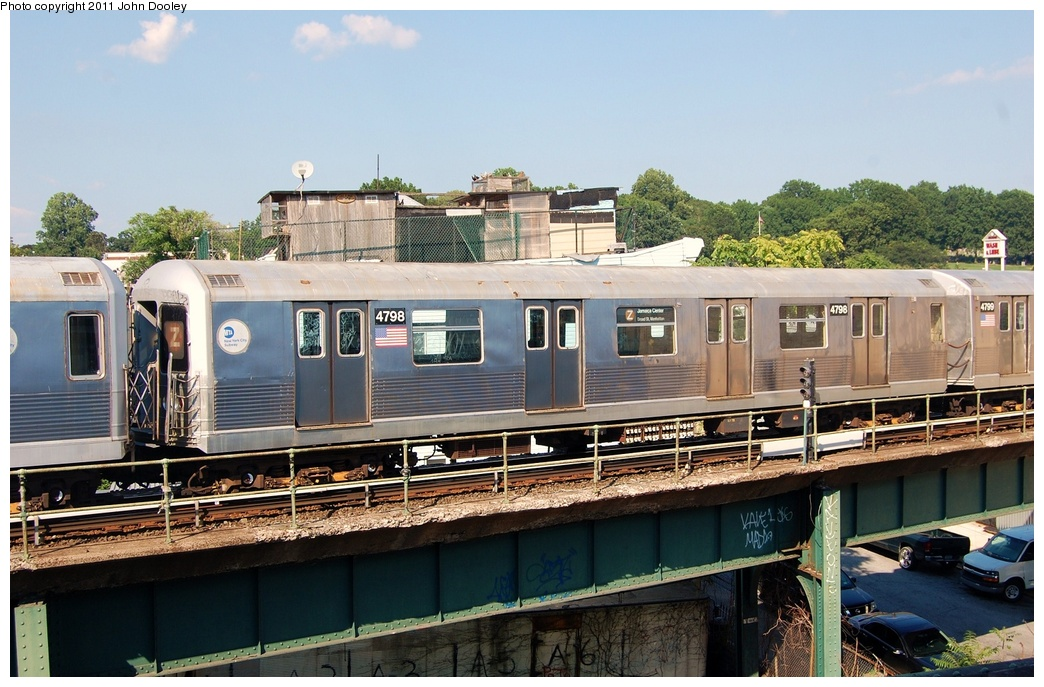 (330k, 1044x687)<br><b>Country:</b> United States<br><b>City:</b> New York<br><b>System:</b> New York City Transit<br><b>Location:</b> East New York Yard/Shops<br><b>Car:</b> R-42 (St. Louis, 1969-1970)  4798 <br><b>Photo by:</b> John Dooley<br><b>Date:</b> 8/17/2011<br><b>Viewed (this week/total):</b> 2 / 441