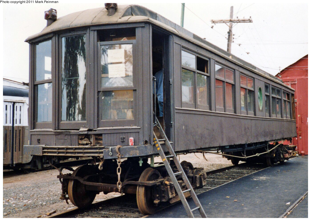 (361k, 1044x741)<br><b>Country:</b> United States<br><b>City:</b> East Haven/Branford, Ct.<br><b>System:</b> Shore Line Trolley Museum <br><b>Car:</b> Hi-V 3344 <i>Mineola</i> <br><b>Photo by:</b> Mark S. Feinman<br><b>Date:</b> 10/8/1994<br><b>Viewed (this week/total):</b> 3 / 445