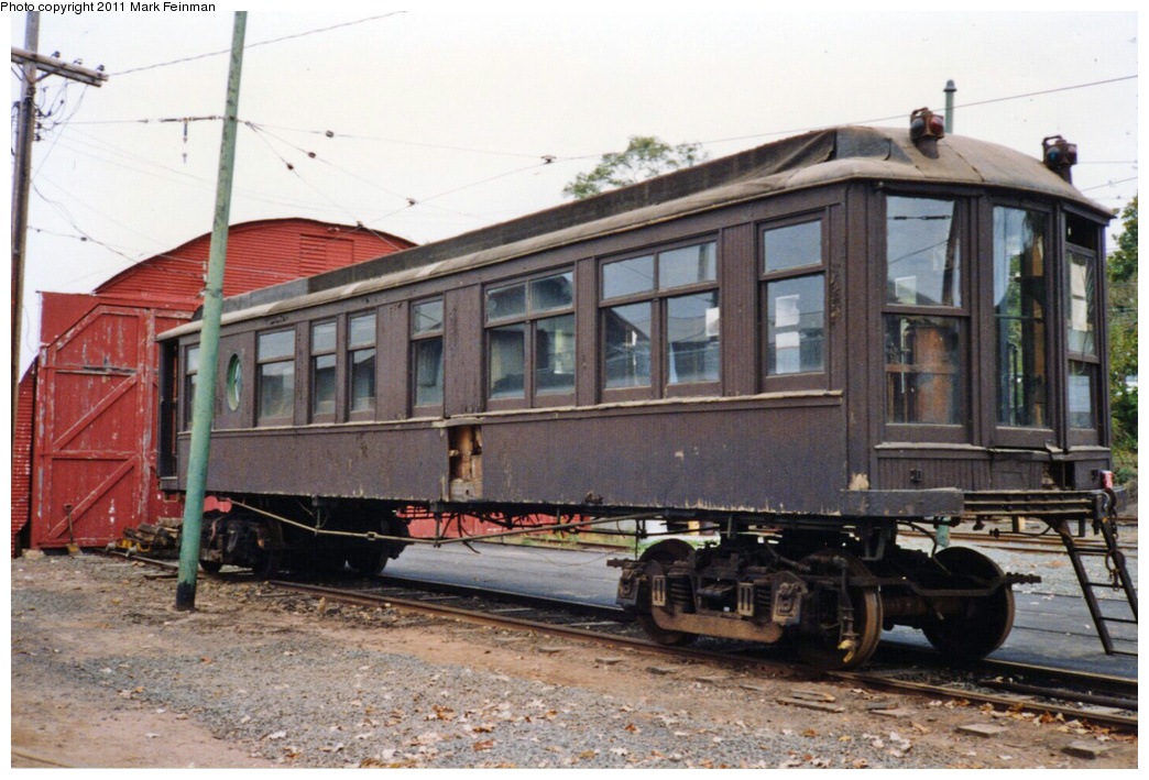 (359k, 1044x709)<br><b>Country:</b> United States<br><b>City:</b> East Haven/Branford, Ct.<br><b>System:</b> Shore Line Trolley Museum <br><b>Car:</b> Hi-V 3344 <i>Mineola</i> <br><b>Photo by:</b> Mark S. Feinman<br><b>Date:</b> 10/8/1994<br><b>Viewed (this week/total):</b> 4 / 667
