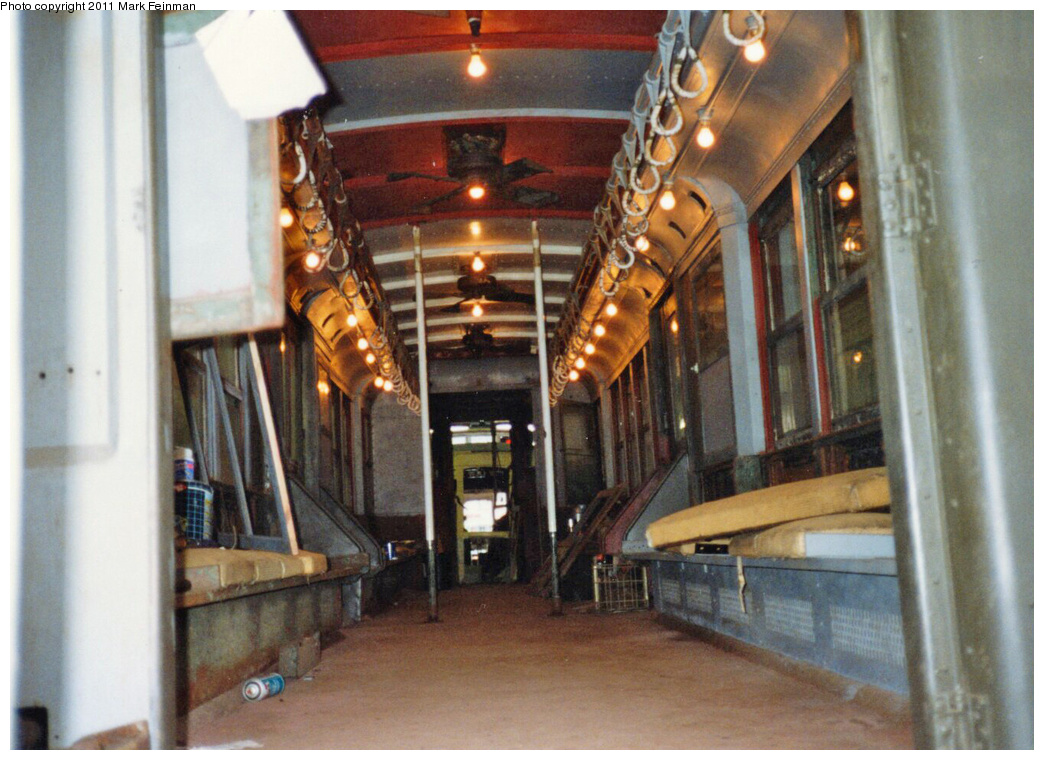 (368k, 1044x760)<br><b>Country:</b> United States<br><b>City:</b> East Haven/Branford, Ct.<br><b>System:</b> Shore Line Trolley Museum <br><b>Car:</b> Hi-V 3662 <br><b>Photo by:</b> Mark S. Feinman<br><b>Date:</b> 10/8/1994<br><b>Viewed (this week/total):</b> 0 / 279