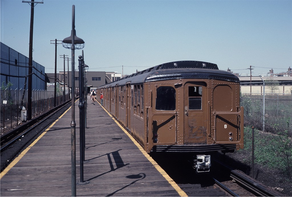 (207k, 1024x690)<br><b>Country:</b> United States<br><b>City:</b> New York<br><b>System:</b> New York City Transit<br><b>Line:</b> BMT Canarsie Line<br><b>Location:</b> East 105th Street <br><b>Route:</b> Fan Trip<br><b>Car:</b> BMT A/B-Type Standard 2390 <br><b>Photo by:</b> Steve Zabel<br><b>Collection of:</b> Joe Testagrose<br><b>Date:</b> 4/30/1977<br><b>Viewed (this week/total):</b> 1 / 257