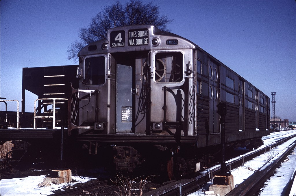 (210k, 1024x679)<br><b>Country:</b> United States<br><b>City:</b> New York<br><b>System:</b> New York City Transit<br><b>Location:</b> Coney Island Yard<br><b>Car:</b> R-11 (Budd, 1949) 8011 <br><b>Collection of:</b> Joe Testagrose<br><b>Date:</b> 2/22/1964<br><b>Viewed (this week/total):</b> 1 / 692