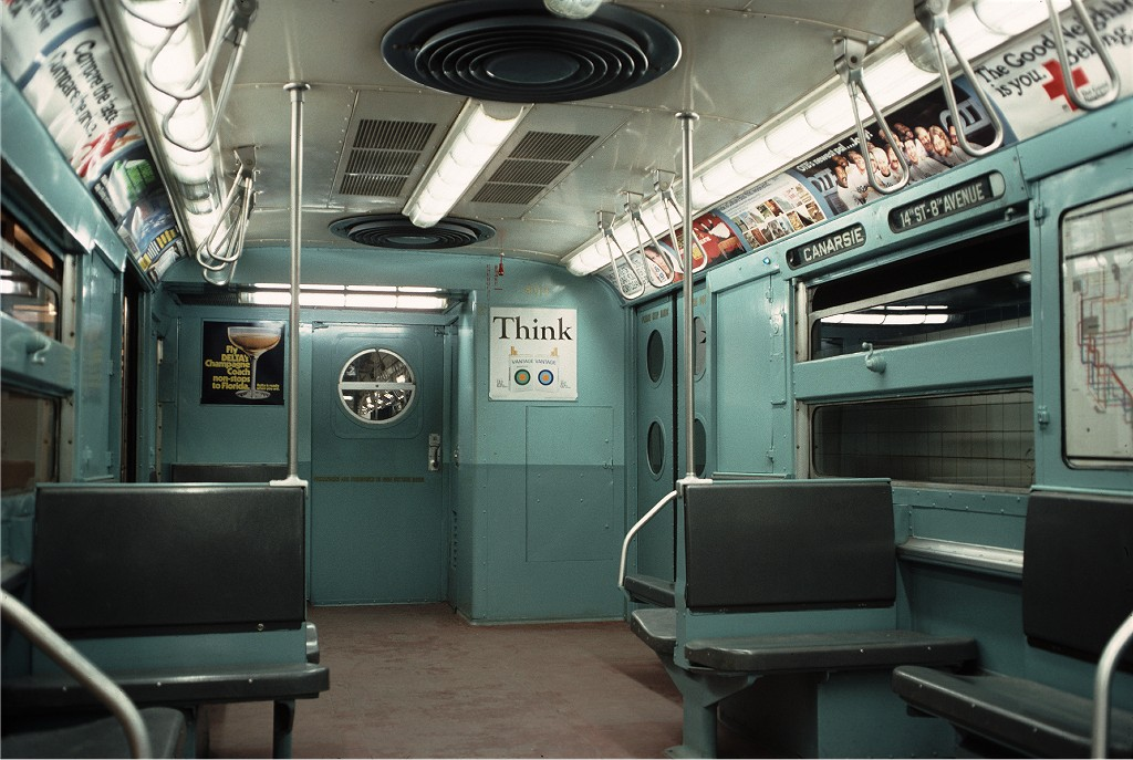 (187k, 1024x687)<br><b>Country:</b> United States<br><b>City:</b> New York<br><b>System:</b> New York City Transit<br><b>Location:</b> New York Transit Museum<br><b>Car:</b> R-11 (Budd, 1949) 8013 <br><b>Photo by:</b> Doug Grotjahn<br><b>Collection of:</b> Joe Testagrose<br><b>Date:</b> 10/10/1976<br><b>Viewed (this week/total):</b> 3 / 710