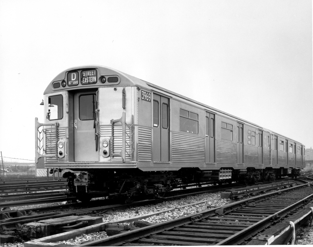 (225k, 1024x809)<br><b>Country:</b> United States<br><b>City:</b> New York<br><b>System:</b> New York City Transit<br><b>Location:</b> Coney Island Yard<br><b>Car:</b> R-32 (Budd, 1964)  3669 <br><b>Photo by:</b> Ed Watson/Arthur Lonto Collection<br><b>Collection of:</b> Frank Pfuhler<br><b>Date:</b> 1969<br><b>Viewed (this week/total):</b> 1 / 412
