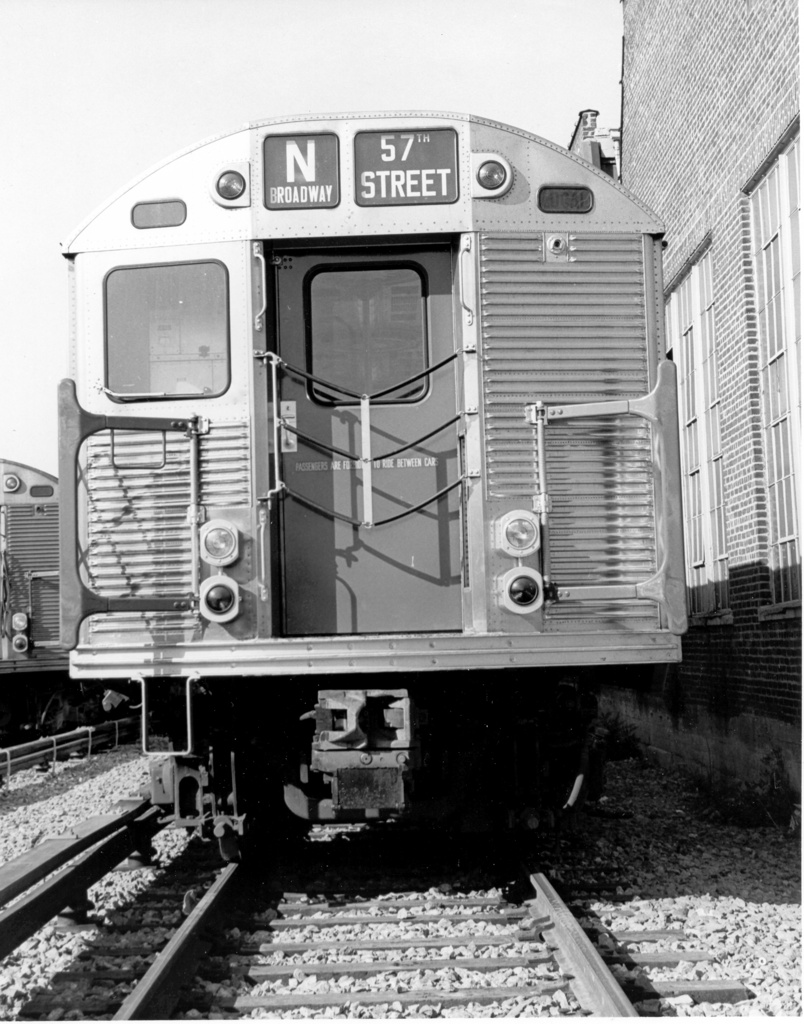 (276k, 804x1024)<br><b>Country:</b> United States<br><b>City:</b> New York<br><b>System:</b> New York City Transit<br><b>Location:</b> Coney Island Yard<br><b>Car:</b> R-32 (Budd, 1964)  3851 <br><b>Photo by:</b> Ed Watson/Arthur Lonto Collection<br><b>Collection of:</b> Frank Pfuhler<br><b>Date:</b> 9/1965<br><b>Viewed (this week/total):</b> 0 / 318