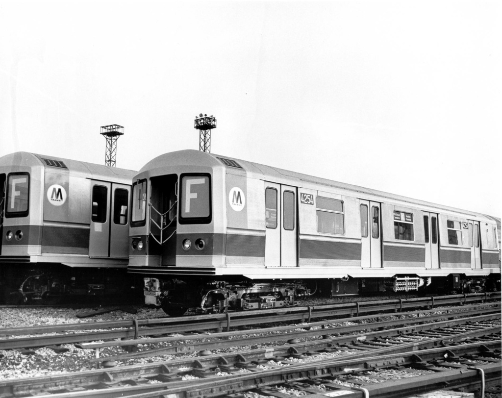 (224k, 1024x812)<br><b>Country:</b> United States<br><b>City:</b> New York<br><b>System:</b> New York City Transit<br><b>Location:</b> Coney Island Yard<br><b>Car:</b> R-40M (St. Louis, 1969)  4254 <br><b>Photo by:</b> Ed Watson/Arthur Lonto Collection<br><b>Collection of:</b> Frank Pfuhler<br><b>Date:</b> 1969<br><b>Viewed (this week/total):</b> 0 / 298