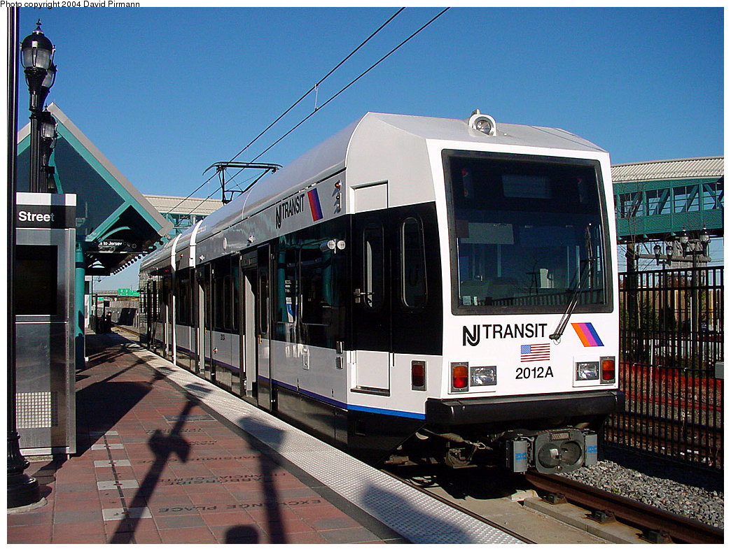 (294k, 1044x788)<br><b>Country:</b> United States<br><b>City:</b> Bayonne, NJ<br><b>System:</b> Hudson Bergen Light Rail<br><b>Location:</b> East 34th Street <br><b>Car:</b> NJT-HBLR LRV (Kinki-Sharyo, 1998-99)  2012 <br><b>Photo by:</b> David Pirmann<br><b>Date:</b> 11/11/2001<br><b>Viewed (this week/total):</b> 2 / 3438