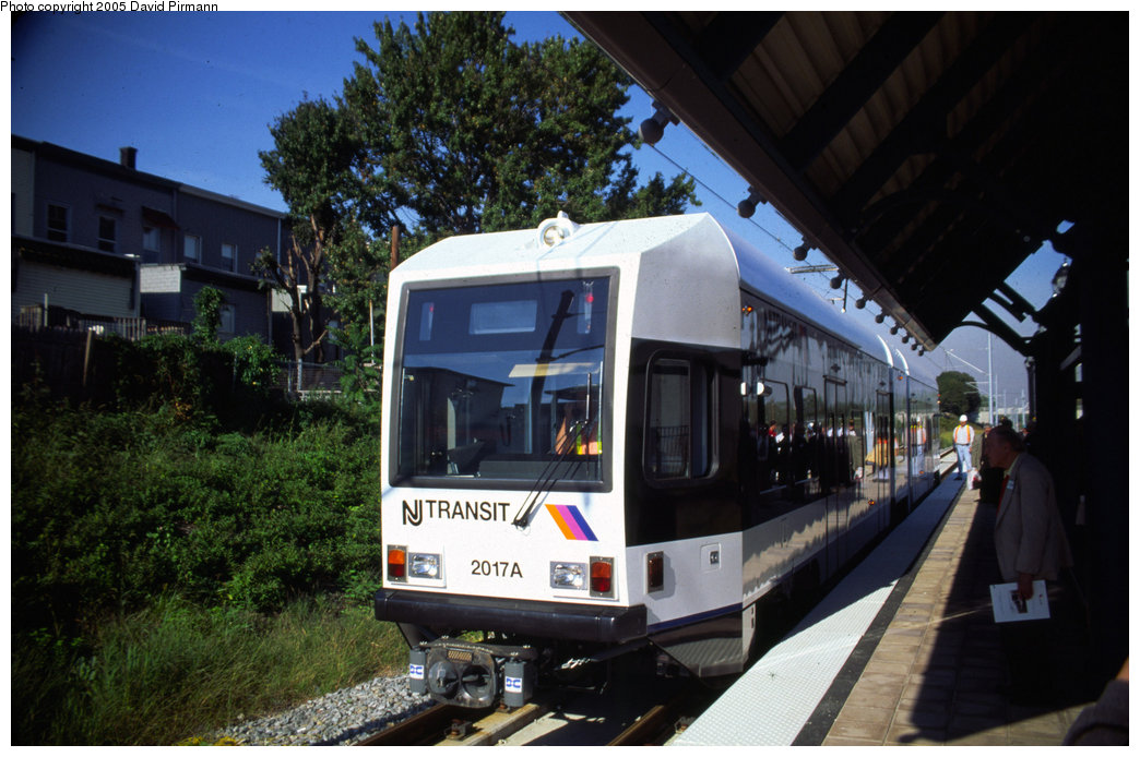 (198k, 1044x694)<br><b>Country:</b> United States<br><b>City:</b> Jersey City, NJ<br><b>System:</b> Hudson Bergen Light Rail<br><b>Location:</b> Danforth Avenue <br><b>Car:</b> NJT-HBLR LRV (Kinki-Sharyo, 1998-99)  2017 <br><b>Photo by:</b> David Pirmann<br><b>Date:</b> 10/2/1999<br><b>Viewed (this week/total):</b> 1 / 3472