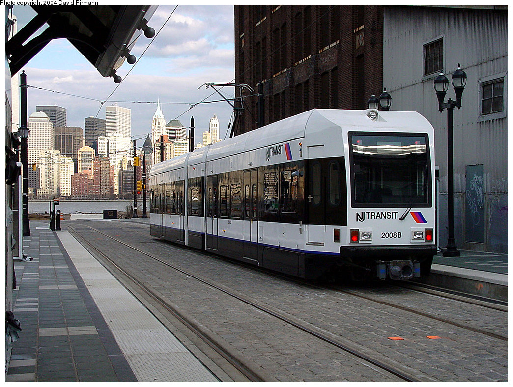 (295k, 1044x788)<br><b>Country:</b> United States<br><b>City:</b> Jersey City, NJ<br><b>System:</b> Hudson Bergen Light Rail<br><b>Location:</b> Essex Street <br><b>Car:</b> NJT-HBLR LRV (Kinki-Sharyo, 1998-99)  2008 <br><b>Photo by:</b> David Pirmann<br><b>Date:</b> 3/26/2000<br><b>Viewed (this week/total):</b> 2 / 2750