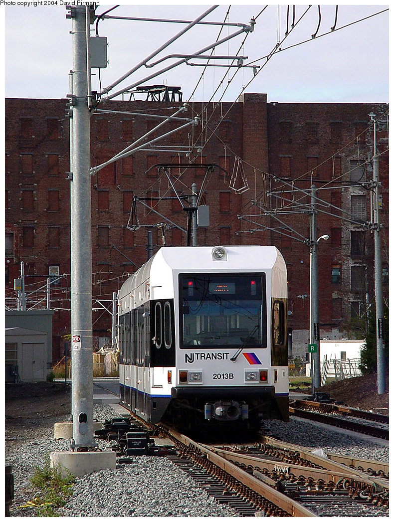 (340k, 790x1047)<br><b>Country:</b> United States<br><b>City:</b> Jersey City, NJ<br><b>System:</b> Hudson Bergen Light Rail<br><b>Location:</b> Harborside <br><b>Car:</b> NJT-HBLR LRV (Kinki-Sharyo, 1998-99)  2013 <br><b>Photo by:</b> David Pirmann<br><b>Date:</b> 11/12/2000<br><b>Viewed (this week/total):</b> 0 / 1758