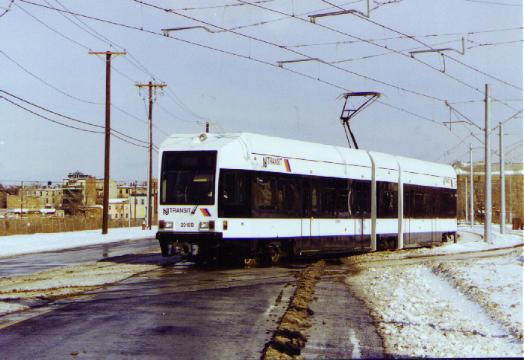 (34k, 524x360)<br><b>Country:</b> United States<br><b>City:</b> Jersey City, NJ<br><b>System:</b> Hudson Bergen Light Rail<br><b>Location:</b> Jersey Avenue <br><b>Photo by:</b> Daniel C. Boyar<br><b>Date:</b> 1/26/2000<br><b>Viewed (this week/total):</b> 3 / 2664