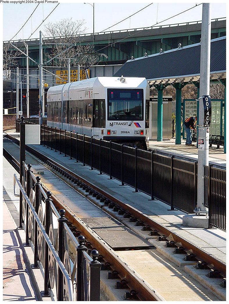 (339k, 788x1044)<br><b>Country:</b> United States<br><b>City:</b> Jersey City, NJ<br><b>System:</b> Hudson Bergen Light Rail<br><b>Location:</b> Liberty State Park <br><b>Car:</b> NJT-HBLR LRV (Kinki-Sharyo, 1998-99)  2006 <br><b>Photo by:</b> David Pirmann<br><b>Date:</b> 3/25/2000<br><b>Viewed (this week/total):</b> 2 / 1931