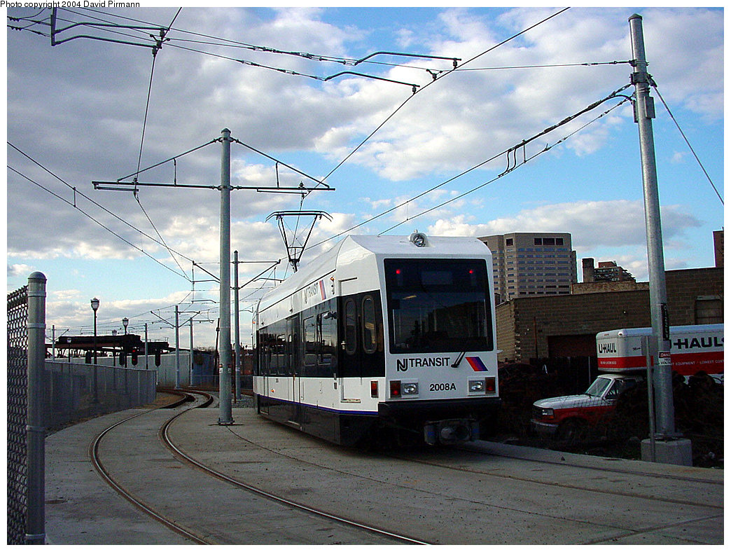(282k, 1044x788)<br><b>Country:</b> United States<br><b>City:</b> Jersey City, NJ<br><b>System:</b> Hudson Bergen Light Rail<br><b>Location:</b> Van Vorst Street <br><b>Car:</b> NJT-HBLR LRV (Kinki-Sharyo, 1998-99)  2008 <br><b>Photo by:</b> David Pirmann<br><b>Date:</b> 3/26/2000<br><b>Viewed (this week/total):</b> 0 / 2944