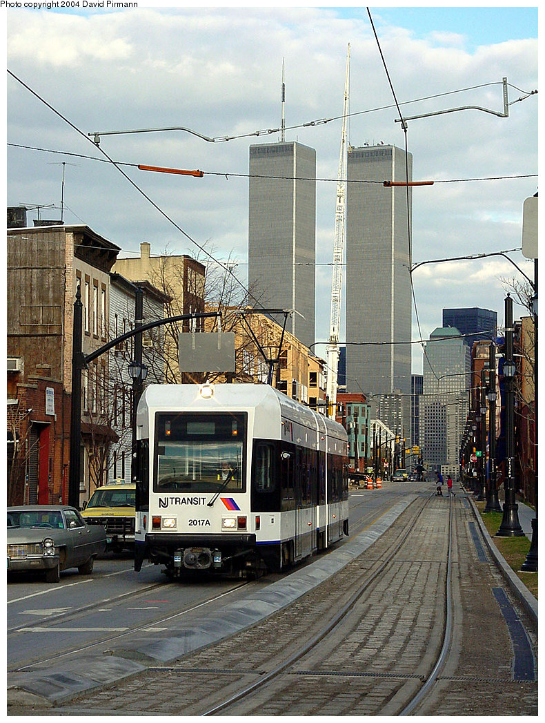 (311k, 790x1047)<br><b>Country:</b> United States<br><b>City:</b> Jersey City, NJ<br><b>System:</b> Hudson Bergen Light Rail<br><b>Location:</b> Van Vorst Street <br><b>Car:</b> NJT-HBLR LRV (Kinki-Sharyo, 1998-99)  2017 <br><b>Photo by:</b> David Pirmann<br><b>Date:</b> 3/26/2000<br><b>Viewed (this week/total):</b> 0 / 14005
