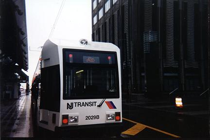 (17k, 432x288)<br><b>Country:</b> United States<br><b>City:</b> Jersey City, NJ<br><b>System:</b> Hudson Bergen Light Rail<br><b>Location:</b> Exchange Place <br><b>Car:</b> NJT-HBLR LRV (Kinki-Sharyo, 1998-99)  2029 <br><b>Photo by:</b> Jose Soltren<br><b>Date:</b> 4/23/2000<br><b>Viewed (this week/total):</b> 1 / 2673