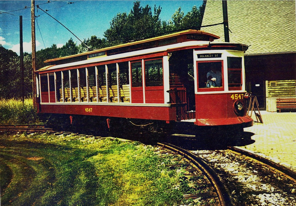 (360k, 1024x714)<br><b>Country:</b> United States<br><b>City:</b> Kennebunk, ME<br><b>System:</b> Seashore Trolley Museum <br><b>Car:</b> B&QT/BMT 4547 <br><b>Collection of:</b> George Conrad Collection<br><b>Viewed (this week/total):</b> 4 / 557