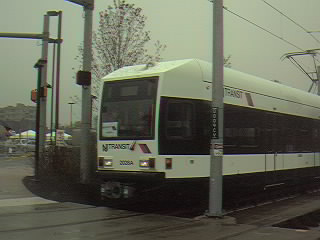 (16k, 320x240)<br><b>Country:</b> United States<br><b>City:</b> Jersey City, NJ<br><b>System:</b> Hudson Bergen Light Rail<br><b>Location:</b> Liberty State Park <br><b>Photo by:</b> Alan Braunstein<br><b>Date:</b> 4/22/2000<br><b>Viewed (this week/total):</b> 1 / 2500
