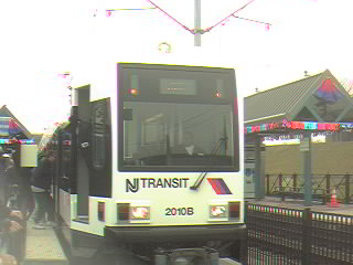(17k, 320x240)<br><b>Country:</b> United States<br><b>City:</b> Jersey City, NJ<br><b>System:</b> Hudson Bergen Light Rail<br><b>Location:</b> Liberty State Park <br><b>Car:</b> NJT-HBLR LRV (Kinki-Sharyo, 1998-99)  2010 <br><b>Photo by:</b> Alan Braunstein<br><b>Date:</b> 4/22/2000<br><b>Viewed (this week/total):</b> 1 / 2445