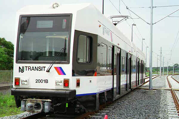 (88k, 600x400)<br><b>Country:</b> United States<br><b>City:</b> Jersey City, NJ<br><b>System:</b> Hudson Bergen Light Rail<br><b>Location:</b> HBLR Shops/Yard <br><b>Car:</b> NJT-HBLR LRV (Kinki-Sharyo, 1998-99)  2001 <br><b>Photo by:</b> Sidney Keyles<br><b>Date:</b> 6/5/1999<br><b>Viewed (this week/total):</b> 4 / 2227