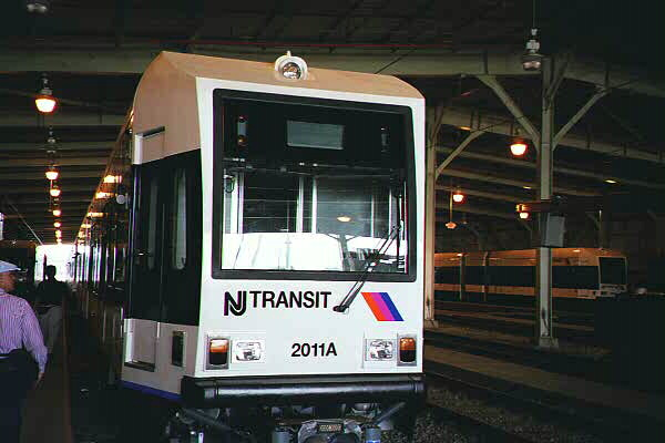 (73k, 600x400)<br><b>Country:</b> United States<br><b>City:</b> Jersey City, NJ<br><b>System:</b> Hudson Bergen Light Rail<br><b>Location:</b> HBLR Shops/Yard <br><b>Car:</b> NJT-HBLR LRV (Kinki-Sharyo, 1998-99)  2011 <br><b>Photo by:</b> Sidney Keyles<br><b>Date:</b> 6/5/1999<br><b>Viewed (this week/total):</b> 1 / 1735