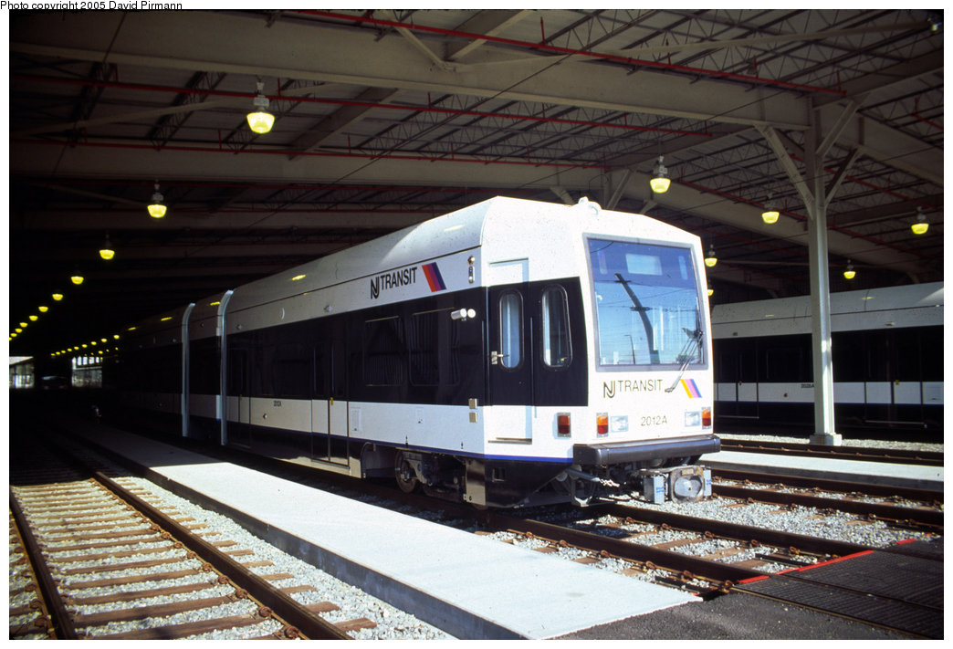 (195k, 1044x711)<br><b>Country:</b> United States<br><b>City:</b> Jersey City, NJ<br><b>System:</b> Hudson Bergen Light Rail<br><b>Location:</b> HBLR Shops/Yard <br><b>Car:</b> NJT-HBLR LRV (Kinki-Sharyo, 1998-99)  2012 <br><b>Photo by:</b> David Pirmann<br><b>Date:</b> 10/2/1999<br><b>Viewed (this week/total):</b> 0 / 2422