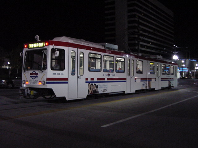 (61k, 640x480)<br><b>Country:</b> United States<br><b>City:</b> Salt Lake City, UT<br><b>System:</b> TRAX<br><b>Car:</b>  1033 <br><b>Photo by:</b> Salaam Allah<br><b>Date:</b> 10/8/2002<br><b>Viewed (this week/total):</b> 1 / 3729