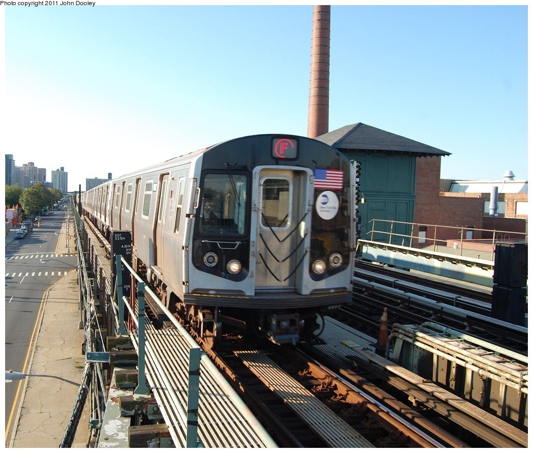(379k, 1044x888)<br><b>Country:</b> United States<br><b>City:</b> New York<br><b>System:</b> New York City Transit<br><b>Line:</b> BMT Culver Line<br><b>Location:</b> Avenue X <br><b>Route:</b> F<br><b>Car:</b> R-160B (Option 2) (Kawasaki, 2009)  9862 <br><b>Photo by:</b> John Dooley<br><b>Date:</b> 10/15/2011<br><b>Viewed (this week/total):</b> 0 / 418