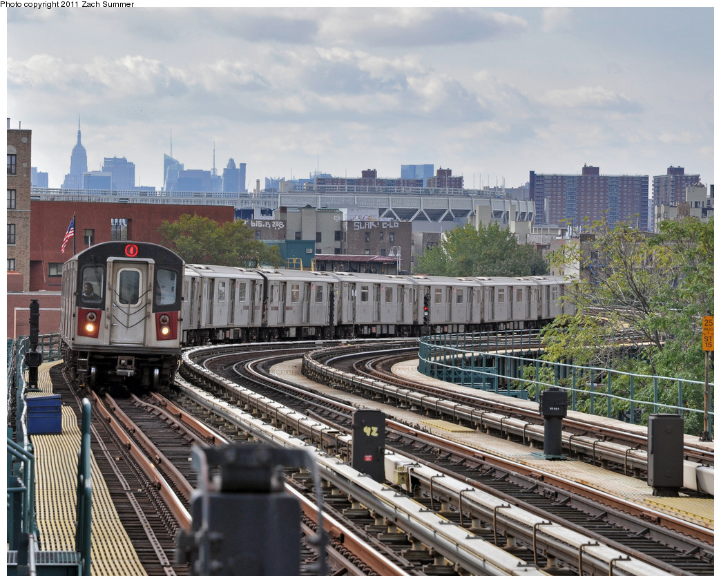 (477k, 1044x844)<br><b>Country:</b> United States<br><b>City:</b> New York<br><b>System:</b> New York City Transit<br><b>Line:</b> IRT Woodlawn Line<br><b>Location:</b> 170th Street <br><b>Route:</b> 4<br><b>Car:</b> R-142 (Option Order, Bombardier, 2002-2003)  1146 <br><b>Photo by:</b> Zach Summer<br><b>Date:</b> 10/23/2011<br><b>Viewed (this week/total):</b> 4 / 834