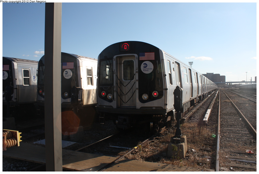 (252k, 1044x703)<br><b>Country:</b> United States<br><b>City:</b> New York<br><b>System:</b> New York City Transit<br><b>Location:</b> Coney Island Yard<br><b>Car:</b> R-160B (Kawasaki, 2005-2008)  8847 <br><b>Photo by:</b> Daniel Negron<br><b>Date:</b> 12/8/2011<br><b>Viewed (this week/total):</b> 1 / 329
