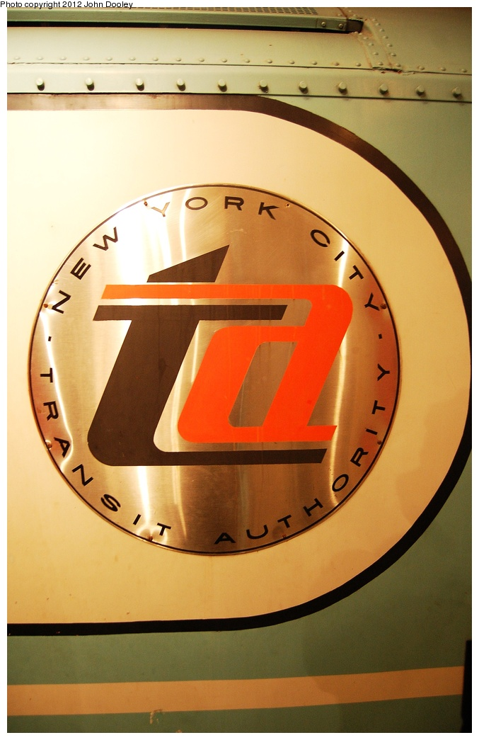 (257k, 677x1045)<br><b>Country:</b> United States<br><b>City:</b> New York<br><b>System:</b> New York City Transit<br><b>Location:</b> New York Transit Museum<br><b>Car:</b> R-33 World's Fair (St. Louis, 1963-64) 9306 <br><b>Photo by:</b> John Dooley<br><b>Date:</b> 10/2/2011<br><b>Viewed (this week/total):</b> 0 / 684