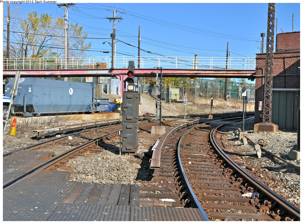(616k, 1044x773)<br><b>Country:</b> United States<br><b>City:</b> New York<br><b>System:</b> New York City Transit<br><b>Location:</b> Westchester Yard<br><b>Photo by:</b> Zach Summer<br><b>Date:</b> 11/5/2011<br><b>Notes:</b> Loop Tracks<br><b>Viewed (this week/total):</b> 1 / 257