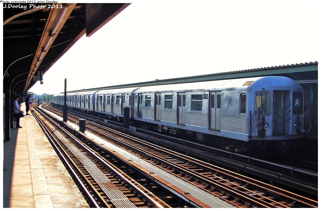 (342k, 1044x687)<br><b>Country:</b> United States<br><b>City:</b> New York<br><b>System:</b> New York City Transit<br><b>Line:</b> IND Fulton Street Line<br><b>Location:</b> 80th Street/Hudson Street <br><b>Route:</b> A<br><b>Car:</b> R-42 (St. Louis, 1969-1970)  4790 <br><b>Photo by:</b> John Dooley<br><b>Date:</b> 8/20/2011<br><b>Viewed (this week/total):</b> 2 / 692
