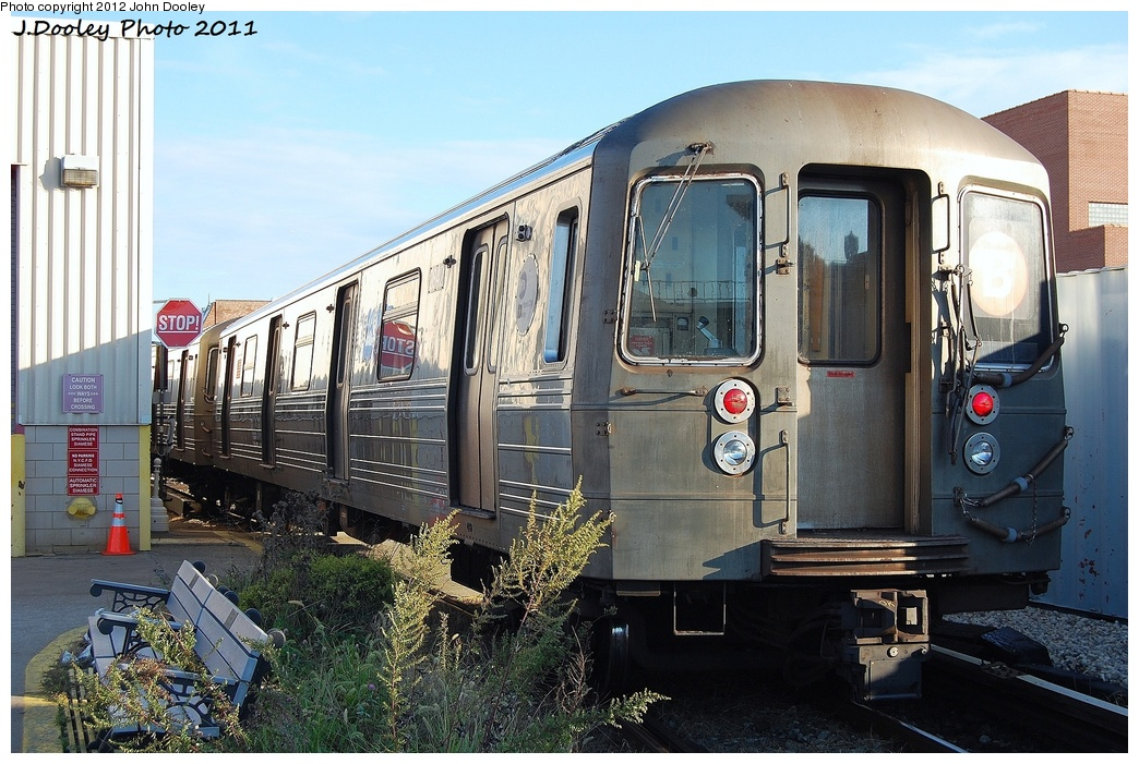 (365k, 1044x701)<br><b>Country:</b> United States<br><b>City:</b> New York<br><b>System:</b> New York City Transit<br><b>Location:</b> Coney Island Yard<br><b>Car:</b> R-68 (Westinghouse-Amrail, 1986-1988)  2842 <br><b>Photo by:</b> John Dooley<br><b>Date:</b> 10/15/2011<br><b>Viewed (this week/total):</b> 1 / 513