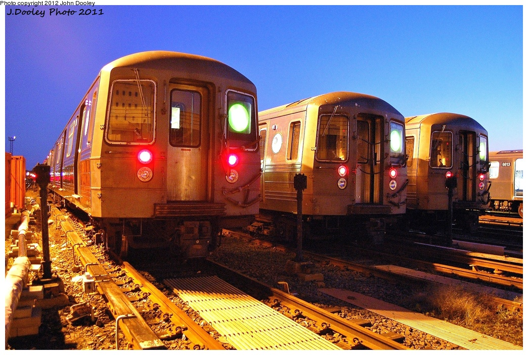 (422k, 1044x701)<br><b>Country:</b> United States<br><b>City:</b> New York<br><b>System:</b> New York City Transit<br><b>Location:</b> Coney Island Yard<br><b>Car:</b> R-68 (Westinghouse-Amrail, 1986-1988)  2880/2814/2780 <br><b>Photo by:</b> John Dooley<br><b>Date:</b> 10/15/2011<br><b>Viewed (this week/total):</b> 1 / 439