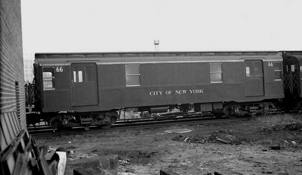 (144k, 1024x595)<br><b>Country:</b> United States<br><b>City:</b> New York<br><b>System:</b> New York City Transit<br><b>Location:</b> 207th Street Yard<br><b>Car:</b> R-8A Revenue Car (St. Louis, 1939) 66 <br><b>Collection of:</b> Frank Pfuhler<br><b>Date:</b> 3/9/1940<br><b>Viewed (this week/total):</b> 2 / 515